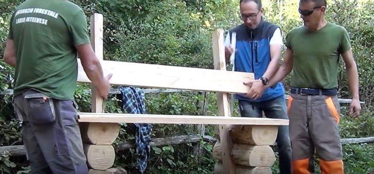 """Aperte le iscrizioni al corso """"Corso elementi di arredo per la sentieristica e valorizzazione legno locale"""""""