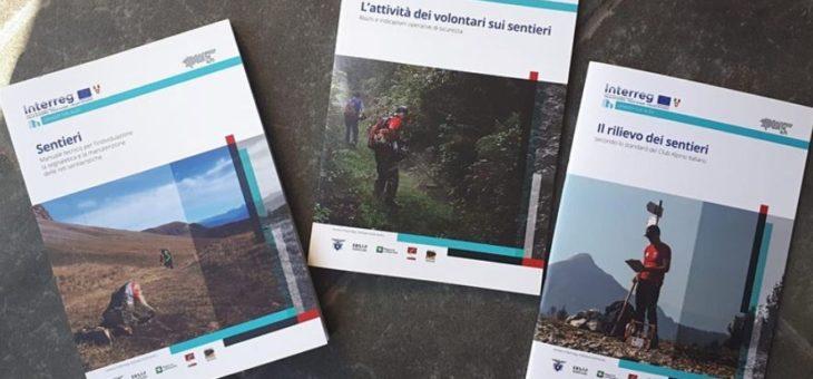 Disponibili (anche online) i nuovi manuali su sentieri, rilievo e attività dei volontari