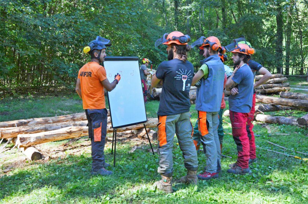 immagine formazione istruttori forestali